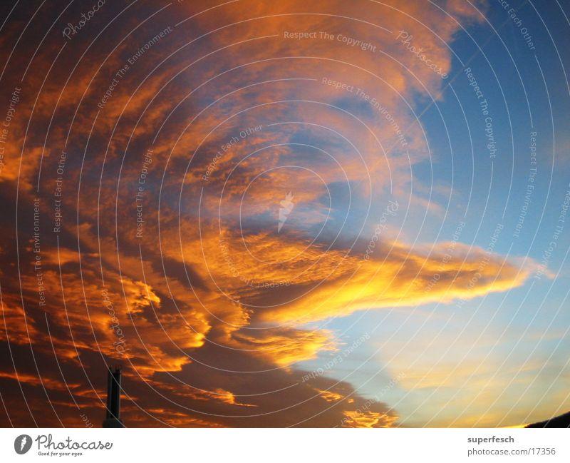 Zerwolknis v.1 Himmel Wolken Farbenspiel