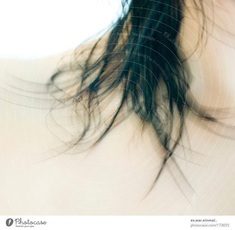 lately i love being pure. Wasser schön feminin kalt Gefühle Bewegung Haare & Frisuren glänzend Haut natürlich nass frisch Behaarung Sicherheit Sauberkeit weich