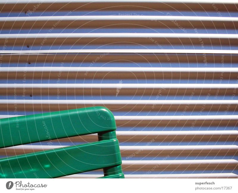 Gartenstuhl Metall sitzen Häusliches Leben Statue Kunststoff Furche Sessel