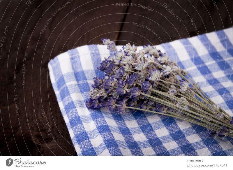 Lavendel flos Tisch Blume Blüte Blumenstrauß violett Duft Geruch riechend Holztisch Holzplatte beruhigend Heilpflanzen Medikament Alternativmedizin