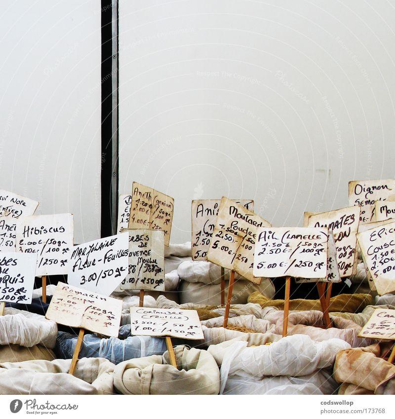 épices et condiments Markt Schilder & Markierungen Gesundheit natürlich Lebensmittel authentisch Ernährung Speise genießen Kräuter & Gewürze lecker Duft