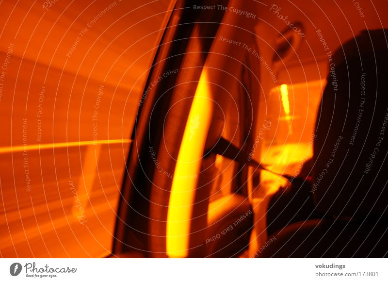 Tunnel Farbfoto Außenaufnahme Experiment Schatten Kontrast Lichterscheinung Bewegungsunschärfe Autofahren PKW Geschwindigkeit beweglich