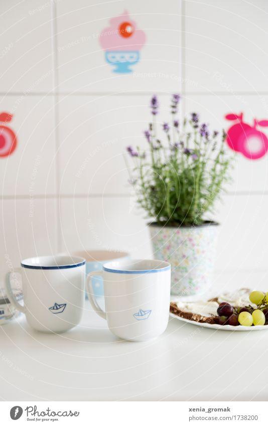 Kaffee Lebensmittel Frucht Brot Ernährung Getränk Tee Tasse Becher Lifestyle Gesundheit Gesunde Ernährung Wellness harmonisch Wohlgefühl Zufriedenheit