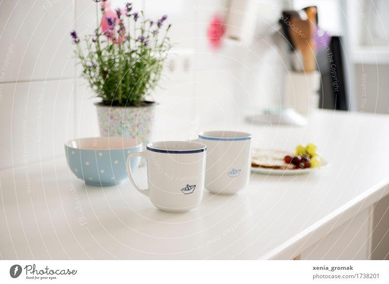 Frühstück Lebensmittel Bioprodukte Geschirr Schalen & Schüsseln Tasse Becher Lifestyle Gesundheit Gesunde Ernährung harmonisch Wohlgefühl Zufriedenheit
