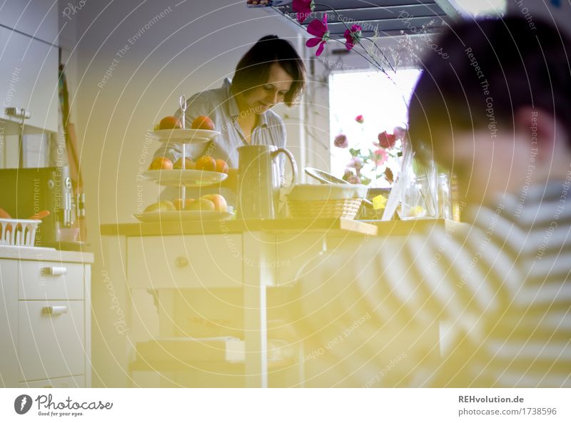 Alltag Häusliches Leben Wohnung Küche Mensch maskulin feminin Kind Kleinkind Mutter Erwachsene Familie & Verwandtschaft 2 1-3 Jahre 30-45 Jahre