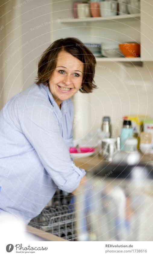 Das bisschen Haushalt Mensch Frau schön Freude Erwachsene Lifestyle feminin Stil Familie & Verwandtschaft Glück außergewöhnlich Arbeit & Erwerbstätigkeit