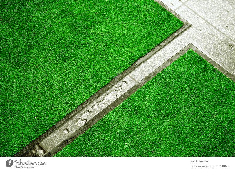 Regenritze Wasser Regen Reinigen Furche Pfütze Teppich Lücke Spalte Regenwasser Gletscherspalte Textfreiraum Felsspalten Gesteinsformationen Matten Zwischenraum Kunstrasen