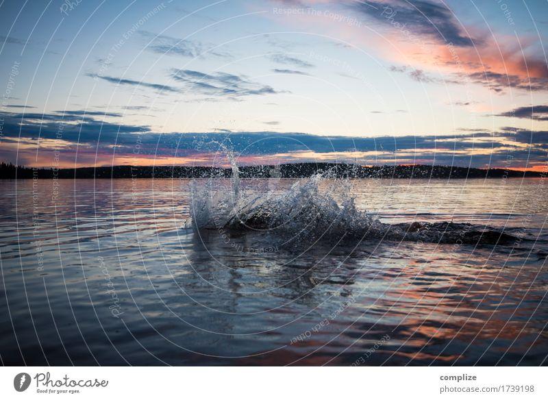 Romantic Splash Gesundheit Wellness Wohlgefühl Erholung Spa Ferien & Urlaub & Reisen Tourismus Ferne Sommer Sommerurlaub Sonne Sonnenbad Umwelt Wasser