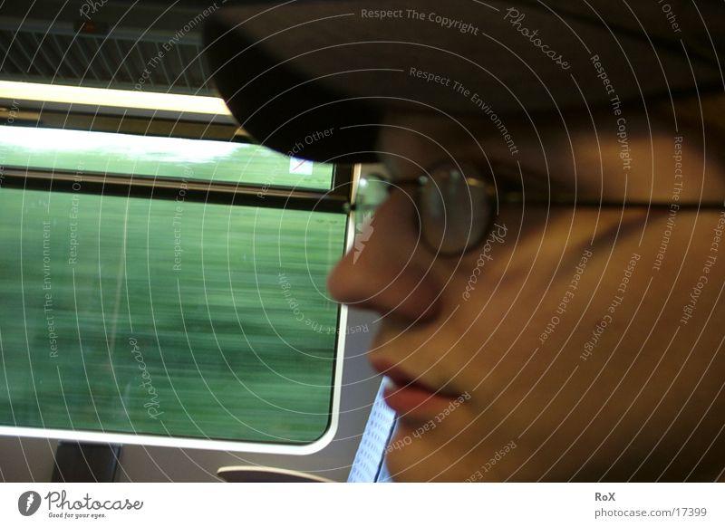 Profil Silhouette Mann Detailaufnahme