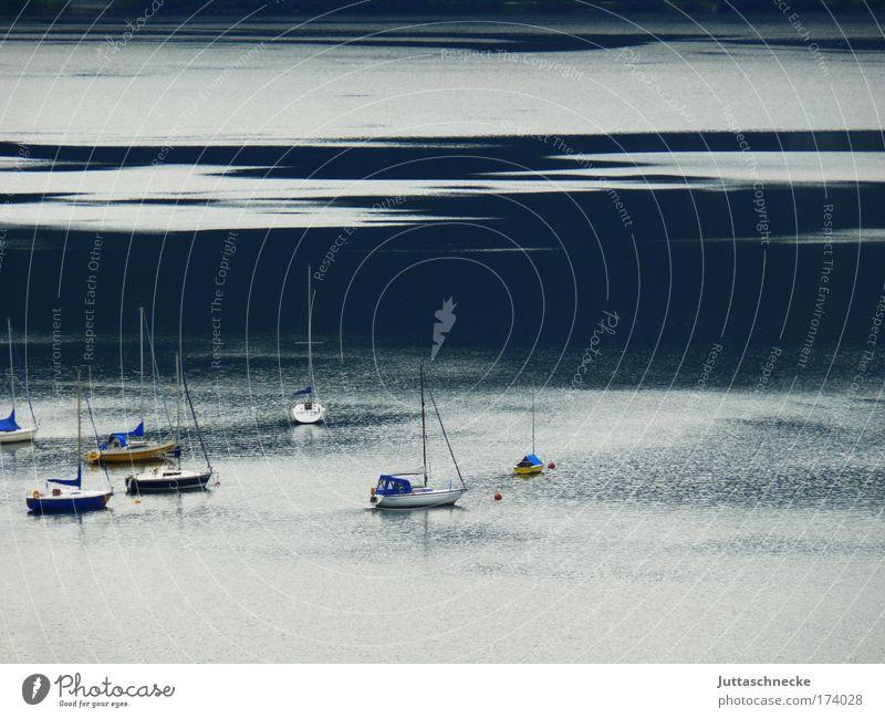 Morning has broken Wasserfahrzeug See Gewässer Mondsee Salzkammergut Segeln Segelboot friedlich Frieden Glätte Idylle Ferien & Urlaub & Reisen Wellen Sommer
