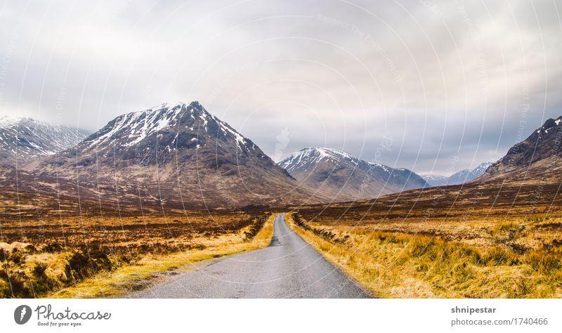 Glen Etive, Highlands, Scotland Ferien & Urlaub & Reisen Tourismus Abenteuer Freiheit Expedition Camping Natur Landschaft Pflanze Urelemente Klima Klimawandel