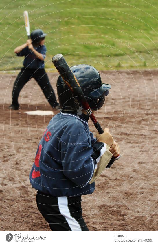Batters Mensch Kind Jugendliche Freude Leben Sport Spielen Junge Freundschaft Kindheit Freizeit & Hobby maskulin Erfolg Coolness Sportmannschaft Team