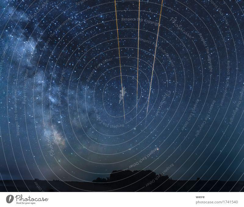 Energiespur Erneuerbare Energie Nachthimmel Observatorium groß Einsamkeit Weltall Asteroid Astronaut Astronomie Energiepolitik Galaxie Geografie Himmel Leoniden