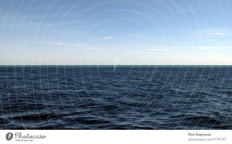 Outer Reef Natur Wasser Himmel Meer blau Ferien & Urlaub & Reisen ruhig Wolken Ferne Freiheit Wellen Horizont Great Barrier Reef