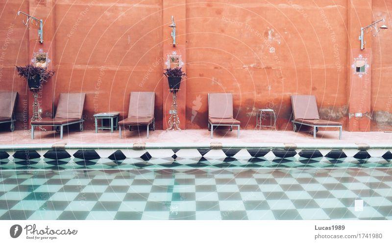 Pool Lifestyle Reichtum elegant Stil Design exotisch Wellness harmonisch Kur Spa Schwimmbad Whirlpool Schwimmen & Baden Ferien & Urlaub & Reisen Tourismus