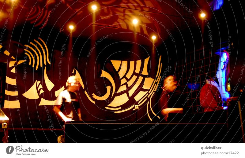 wand Disco Bar Licht dunkel Fototechnik