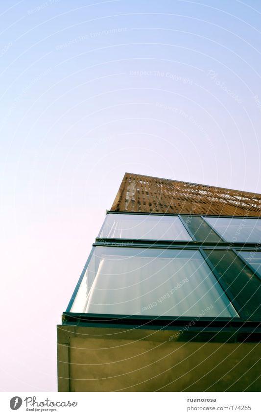 Himmel Farbe Fenster Architektur Gebäude Kreativität exotisch Symmetrie