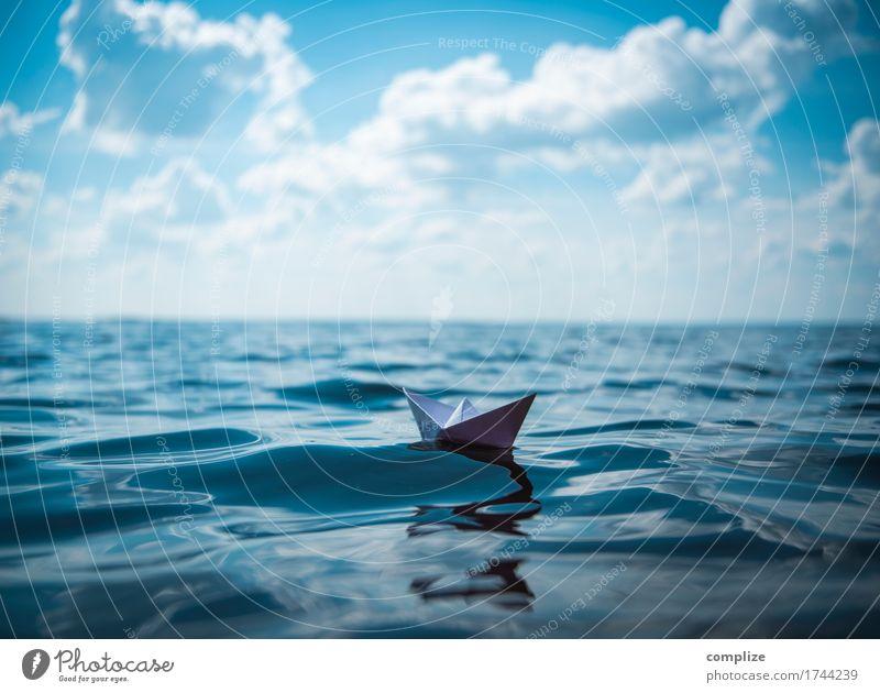 Schifffahrt mit Drei F Himmel Natur Ferien & Urlaub & Reisen Sommer Wasser Sonne Meer Erholung Strand Umwelt Küste Gesundheit Freiheit Schwimmen & Baden