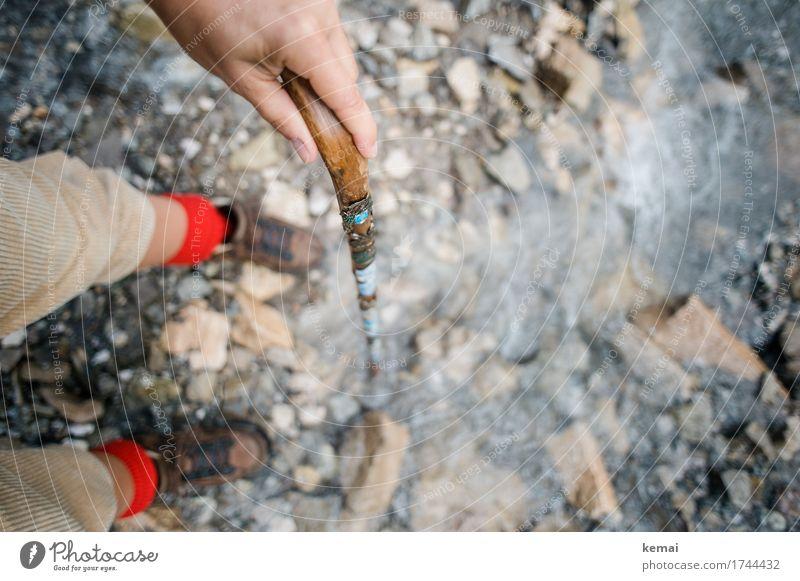 Württemberger Mensch Natur Ferien & Urlaub & Reisen Wasser Hand rot Berge u. Gebirge Leben Beine Stil Freiheit Stein Ausflug Freizeit & Hobby Zufriedenheit
