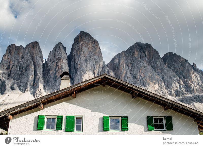 Tragendes Dach Ferien & Urlaub & Reisen Tourismus Ausflug Abenteuer Freiheit Sommerurlaub Berge u. Gebirge wandern Natur Landschaft Himmel Wolken Schönes Wetter