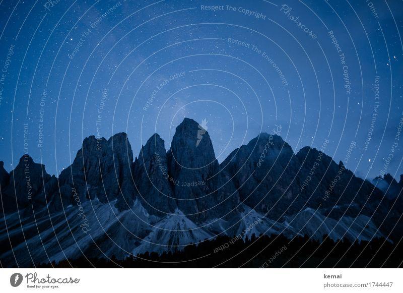 Die Nacht Wohlgefühl Erholung ruhig Freizeit & Hobby Ferien & Urlaub & Reisen Ausflug Abenteuer Ferne Freiheit Umwelt Natur Landschaft Wolkenloser Himmel