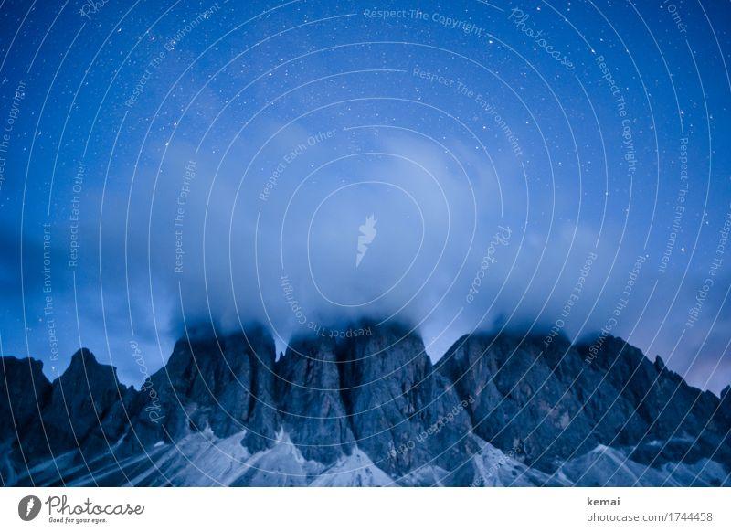 Caché Natur Ferien & Urlaub & Reisen blau Sommer schön Landschaft Erholung Wolken ruhig Ferne Berge u. Gebirge Umwelt außergewöhnlich Freiheit Felsen Ausflug