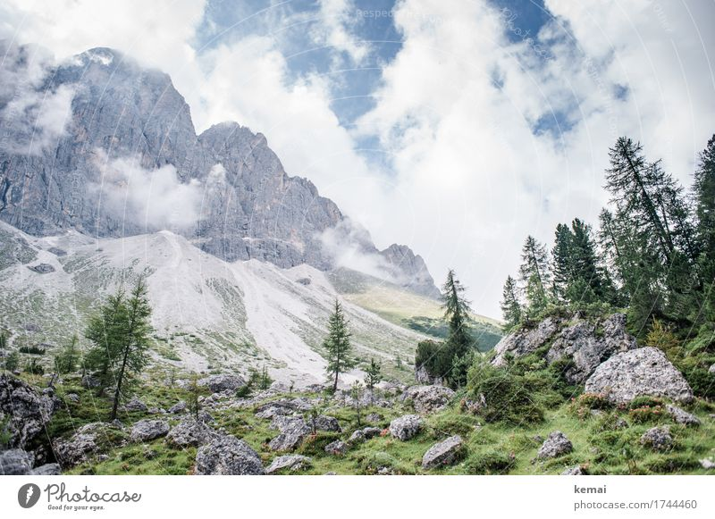Wunderbare Bergwelt Leben harmonisch Sinnesorgane Erholung ruhig Ferien & Urlaub & Reisen Ausflug Abenteuer Ferne Freiheit Sommerurlaub Berge u. Gebirge wandern