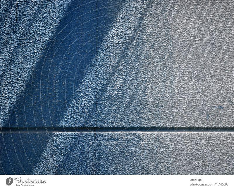 Lineup blau Wand Stil Mauer Linie Hintergrundbild elegant Fassade Design Erfolg Wachstum außergewöhnlich Streifen einfach Grafik u. Illustration aufsteigen