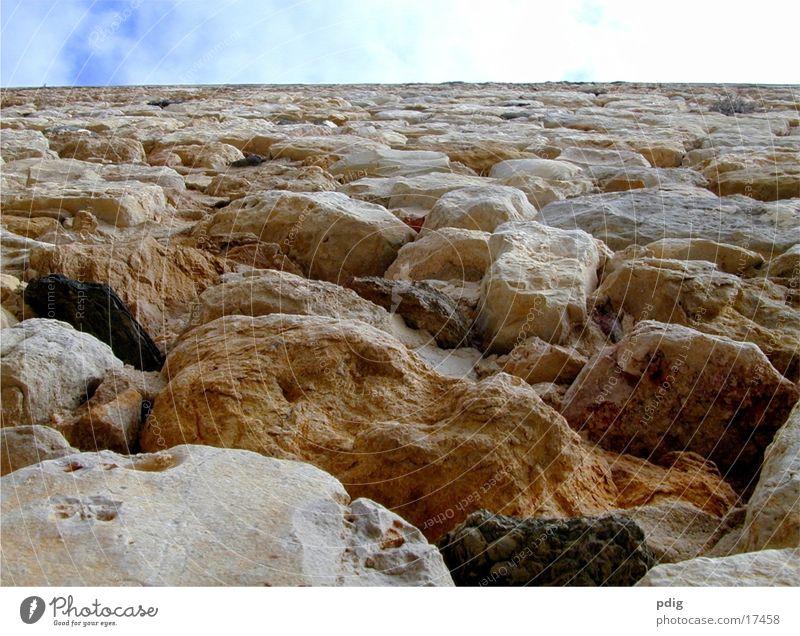 FaroWall Architektur Stadtmauer Detailaufnahme Stein