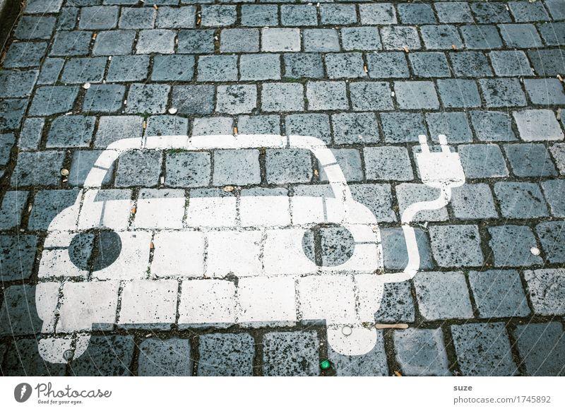 *3.900* Stromfresser Kabel Energiewirtschaft Erneuerbare Energie Umwelt Verkehr Verkehrsmittel Autofahren Fahrzeug PKW klein lustig modern nachhaltig innovativ