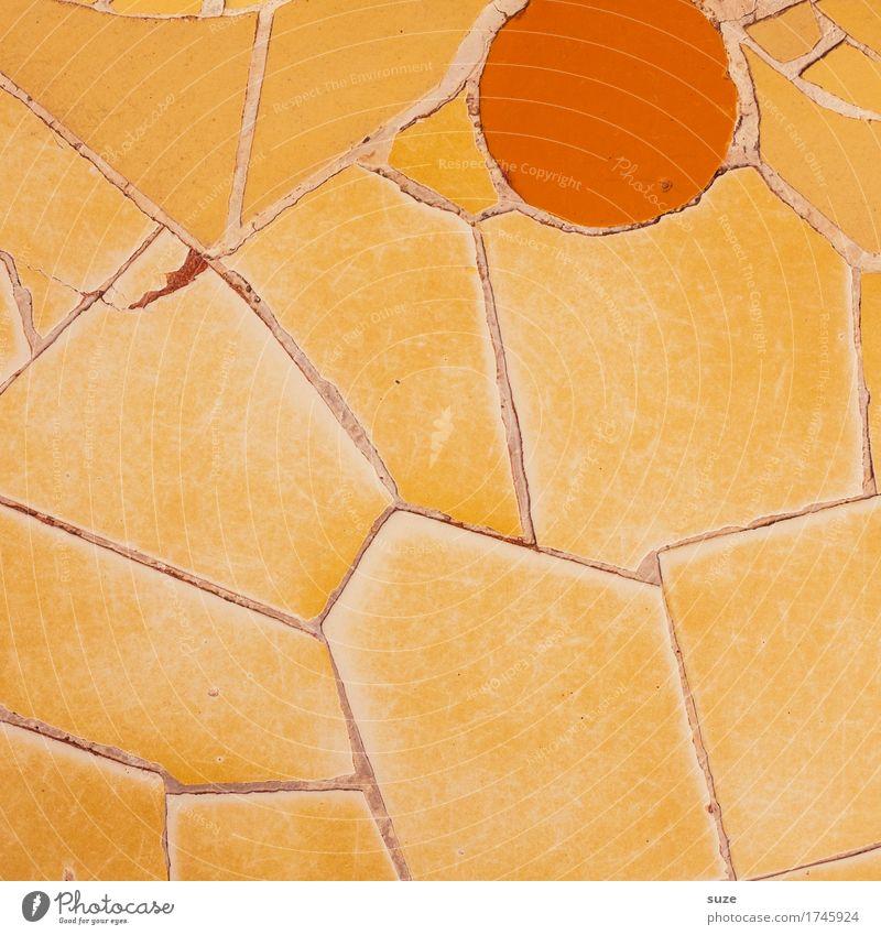 Abendsonne Stil Design Handarbeit Sonne Innenarchitektur Dekoration & Verzierung Kunst Kunstwerk Architektur Sammlung Stein alt ästhetisch eckig historisch