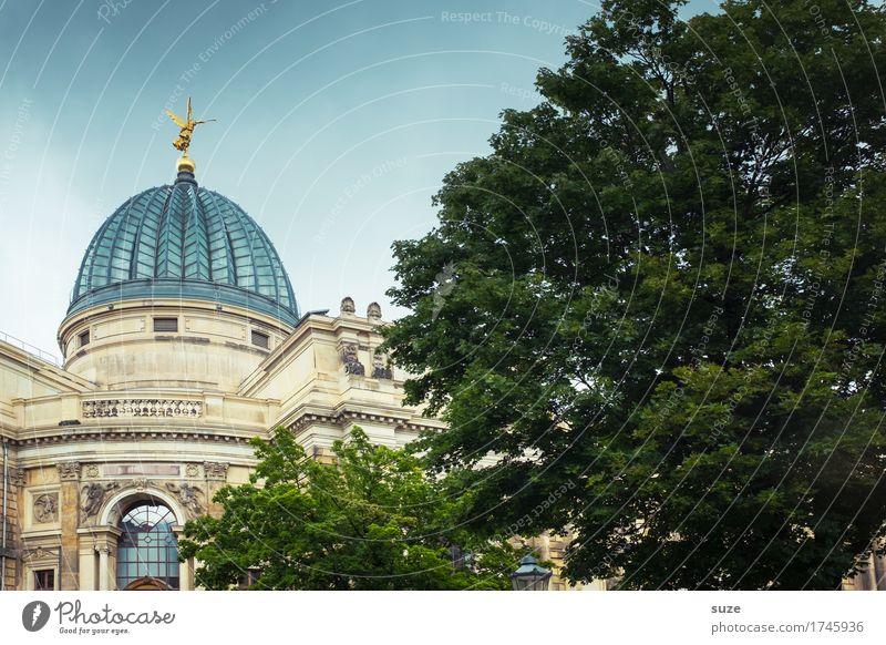 Zitronenpresse Stadt Baum Architektur Kunst Tourismus Deutschland gold Kultur historisch Vergangenheit Sehenswürdigkeit Symbole & Metaphern Wahrzeichen