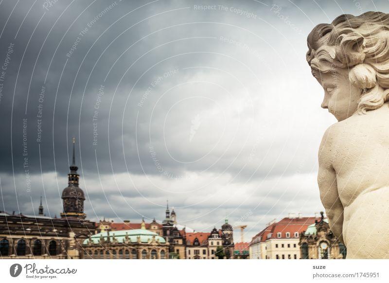 Engelsblick Himmel Stadt nackt Architektur Religion & Glaube Deutschland Tourismus Wetter Platz Kultur historisch Hoffnung Vergangenheit Symbole & Metaphern