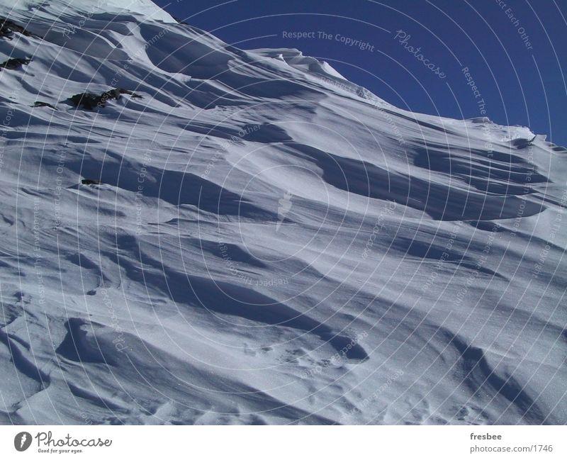 schnee Himmel Schnee Alpen