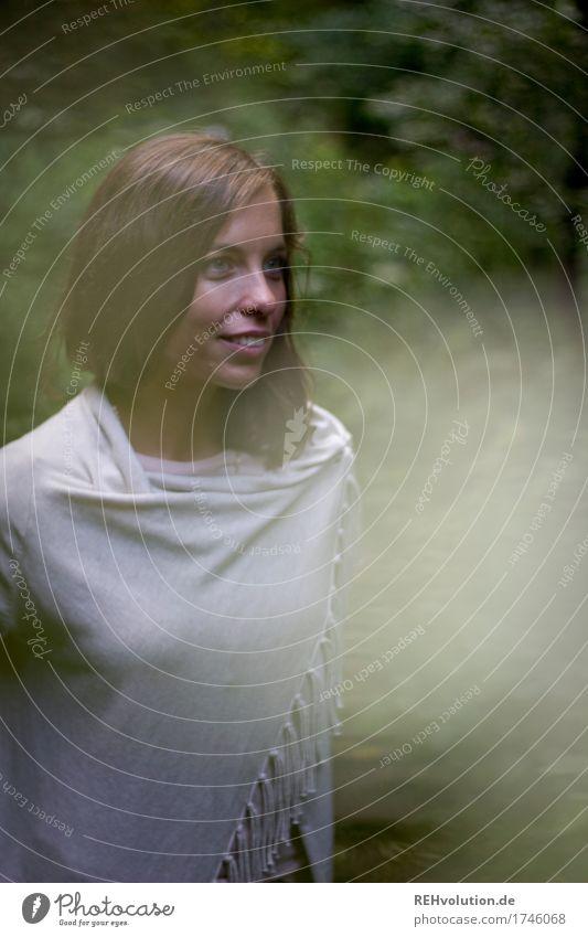 Julia | im Wald Mensch Natur Jugendliche Junge Frau schön Landschaft Freude Gesicht Umwelt natürlich feminin Glück Freizeit & Hobby Zufriedenheit 13-18 Jahre