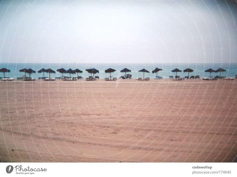 Costa Del Sol Ferien & Urlaub & Reisen Meer Strand Erholung Wärme groß schlafen Seeufer Dienstleistungsgewerbe Sommerurlaub Sonnenbad Spanien Pauschalreise
