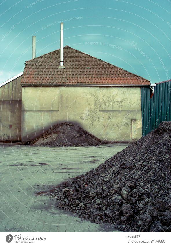 Smoko! Arbeit & Erwerbstätigkeit Industrie Energiewirtschaft Baustelle Hügel Handwerk Schornstein Handwerker Kohle Mittelstand Energiekrise Industriekultur