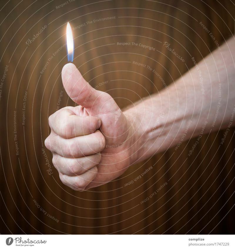 echt heiß! Weihnachten & Advent Hand Stil Gesundheit Feste & Feiern Design Freizeit & Hobby Geburtstag Kreativität Finger Kerze Wohlgefühl Rauchen Silvester u. Neujahr Rauschmittel brennen