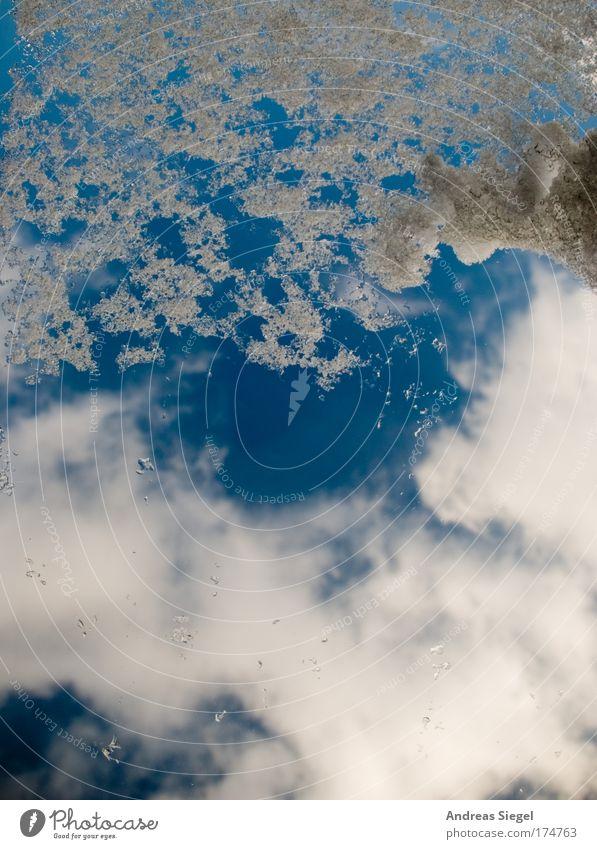 Schnee im Sommer Farbfoto Nahaufnahme Menschenleer Sonnenlicht Umwelt Luft Himmel nur Himmel Wolken Winter Klima Klimawandel Wetter Schönes Wetter