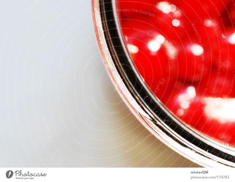 Miss Marmalade. rot Ernährung Gesundheit Glas Design frisch ästhetisch süß verfaulen Kreativität Idee Appetit & Hunger lecker Erfrischung Dessert Anschnitt