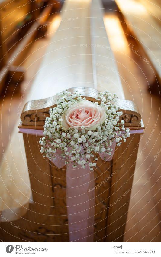 Trauung Blume Dekoration & Verzierung Hochzeit Rose Kitsch Blumenstrauß Schleife Klischee Krimskrams
