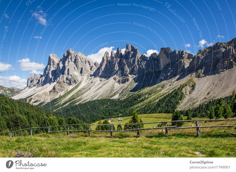 Alpine Welten Natur Landschaft Urelemente Himmel Wolken Wiese Feld Wald Hügel Felsen Alpen Berge u. Gebirge Gipfel wandern massiv Geröll Geröllfeld steinig