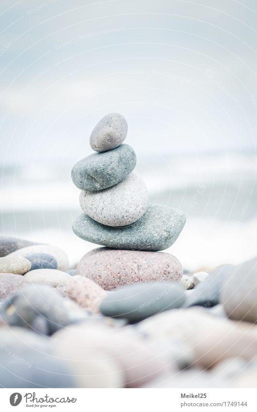 Steinstrand Heiligendamm Natur Ferien & Urlaub & Reisen Sommer Wasser Sonne Meer Erholung ruhig Ferne Strand Umwelt Küste Sand Design Zufriedenheit Wellen