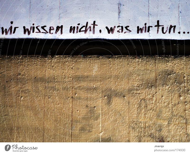 42 Farbfoto Gedeckte Farben Textfreiraum unten Textfreiraum Mitte Lifestyle Stil Jugendkultur Subkultur Stadt Mauer Wand Schriftzeichen Graffiti machen