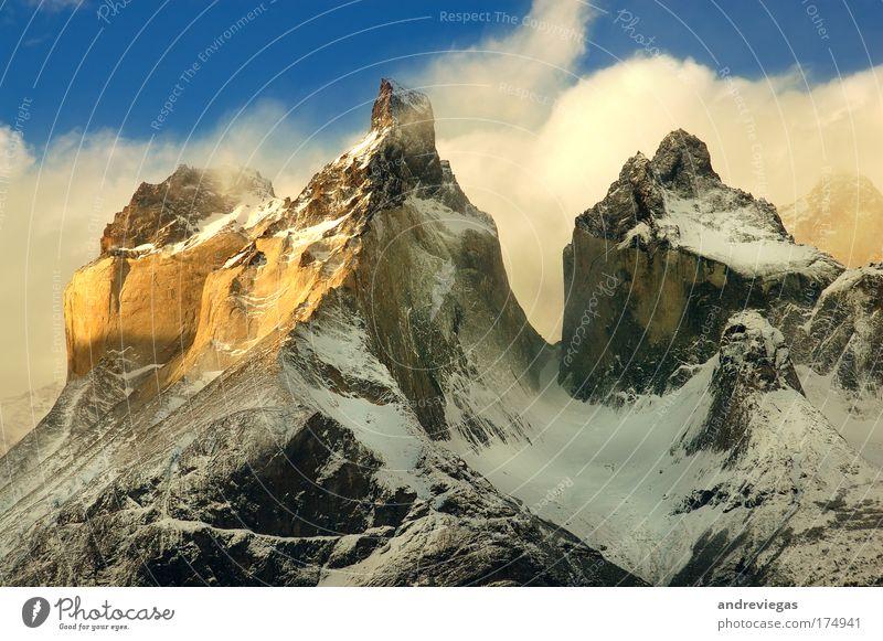 Natur Freude Berge u. Gebirge Landschaft Umwelt Erde Klima Urelemente Begeisterung