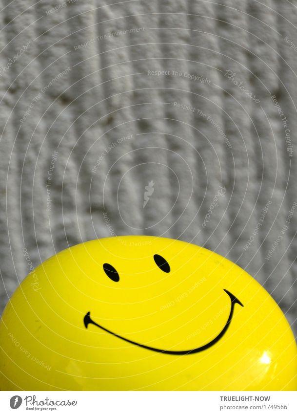 im Hochformat Mensch Sonne Freude schwarz Gesicht Auge gelb Leben Lifestyle Glück Feste & Feiern grau frei frisch Dekoration & Verzierung Fröhlichkeit