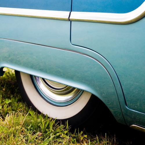 Rock 'n' Roll Car Farbfoto Außenaufnahme Menschenleer Textfreiraum oben Textfreiraum unten Tag Lifestyle elegant Stil Design Ausflug Ferne Freiheit Sommerurlaub
