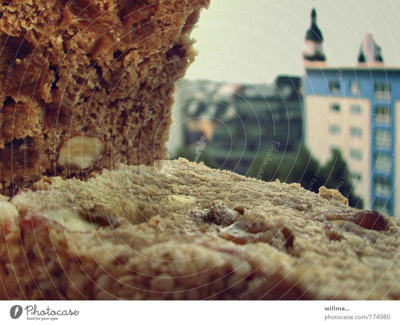 willmas stullenkino Stadt Haus Arbeit & Erwerbstätigkeit Hochhaus Armut Ernährung Gesellschaft (Soziologie) Reichtum Brot Picknick Rathaus Chemnitz