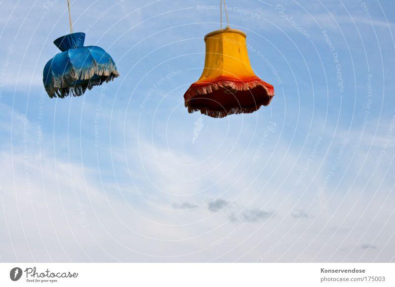 taghell erleuchtet Himmel blau schön Sommer Wolken oben Freiheit Lampe Luft hell Wetter hoch frei außergewöhnlich Dekoration & Verzierung Häusliches Leben
