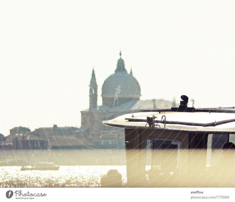VENICE BEACH Ferien & Urlaub & Reisen Wärme Kirche Fluss Italien Lebensfreude Skyline Schifffahrt Schönes Wetter Venedig Fähre Bekanntheit Sehenswürdigkeit Städtereise Hafenstadt Passagierschiff